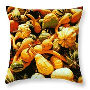 Out Of My Gourd Throw Pillow