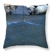 Outside Dafoi Triagex3 Art 9 Of 9  Throw Pillow