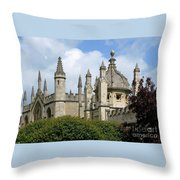 Oxford Spires Throw Pillow