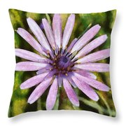 Oyster Plant Throw Pillow