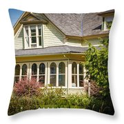 Oysterville House 6 Throw Pillow