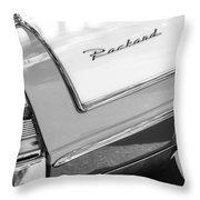 Packard Taillight Throw Pillow