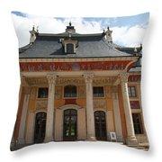 Palace Pillnitz  Throw Pillow