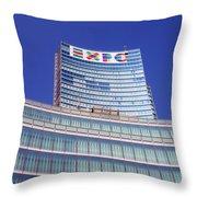 Palazzo Lombardia Throw Pillow