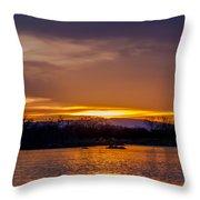 Palisade Sunset Throw Pillow