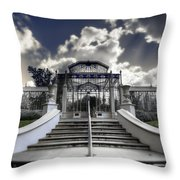 Palm House Throw Pillow