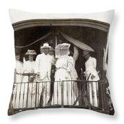 Panama Roosevelt, C1906 Throw Pillow