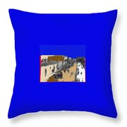 Pancho Villa Captures Juarez Chihuahua May 8 1911 Color Added 2012 Throw Pillow