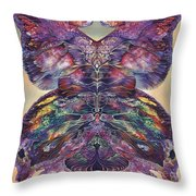 Papalotl Series 3 Throw Pillow