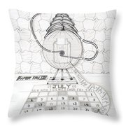 Papertrail Throw Pillow