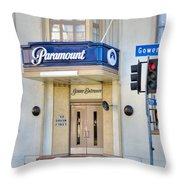 Paramount Movie Studio Hollywood Ca Throw Pillow