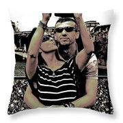 Paris Is For Lovers Throw Pillow
