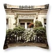 Paris Windows Throw Pillow