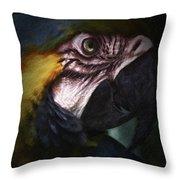Parrot 9 Throw Pillow