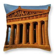 Parthenon Throw Pillow by Dan Sproul