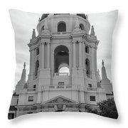 Pasadena City Hall, Pasadena California Throw Pillow