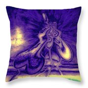 Passion In The Night Throw Pillow