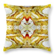 Patterns In Stone - 150 Throw Pillow