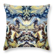 Patterns In Stone - 84 Throw Pillow