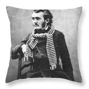 Paul Gustave Dor� (1833-1883) Throw Pillow