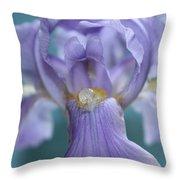 Pearl Of The Iris Throw Pillow