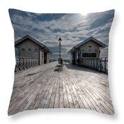 Penarth Pier 1 Throw Pillow