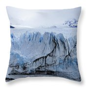 Perito Moreno Glacier Throw Pillow