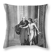 Perkin Warbeck (c1474-1499) Throw Pillow
