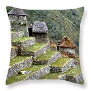 Peru: Machu Picchu Throw Pillow