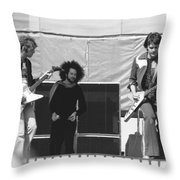 Day On The Green 6-6-76 #3 Throw Pillow