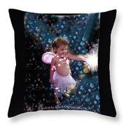 Fairy Magic Throw Pillow