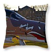 Phantom 4 Jet Vietnam Era Throw Pillow