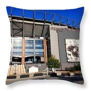 Philadelphia Eagles - Lincoln Financial Field Throw Pillow