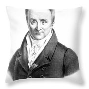 Philippe Pinel (1745-1826) Throw Pillow