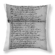 Phillis Wheatley (1753?-1784) Throw Pillow