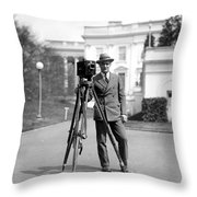 Photographer, C1915 Throw Pillow