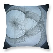 Photon Double Slit Test Throw Pillow