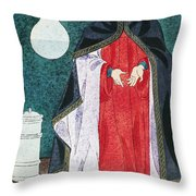 Physician 16th Century Throw Pillow