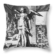 Physician As Angel Throw Pillow