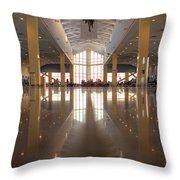 Piarco Airport Trinidad Throw Pillow