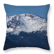 Pikes Peak Throw Pillow