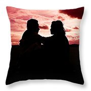 Pink Love Throw Pillow