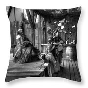 Pirates Of The Caribbean V8 Throw Pillow