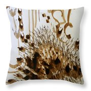 Play Brush And Ink 2 Throw Pillow