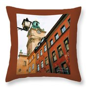 1 Pm In Stockholm Throw Pillow