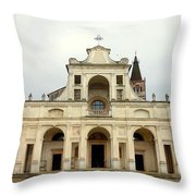 Polirone Abbey Throw Pillow