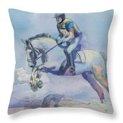 Polo Art Throw Pillow