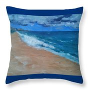 Pompano Beach Throw Pillow