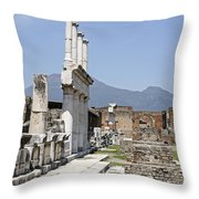 Pompeii Throw Pillow