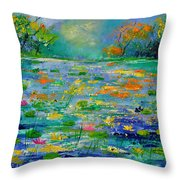 Pond 454190 Throw Pillow
